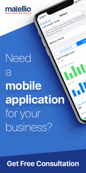 matellio mobile app dev